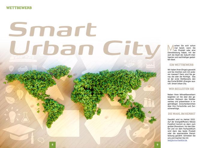 Wettbewerb Smart Urban City